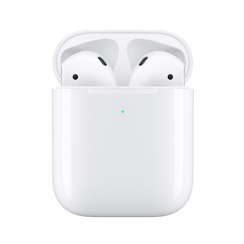 Apple  MRXJ2AMA AirPods 2 BT Headphones w/Wireless Charging Case