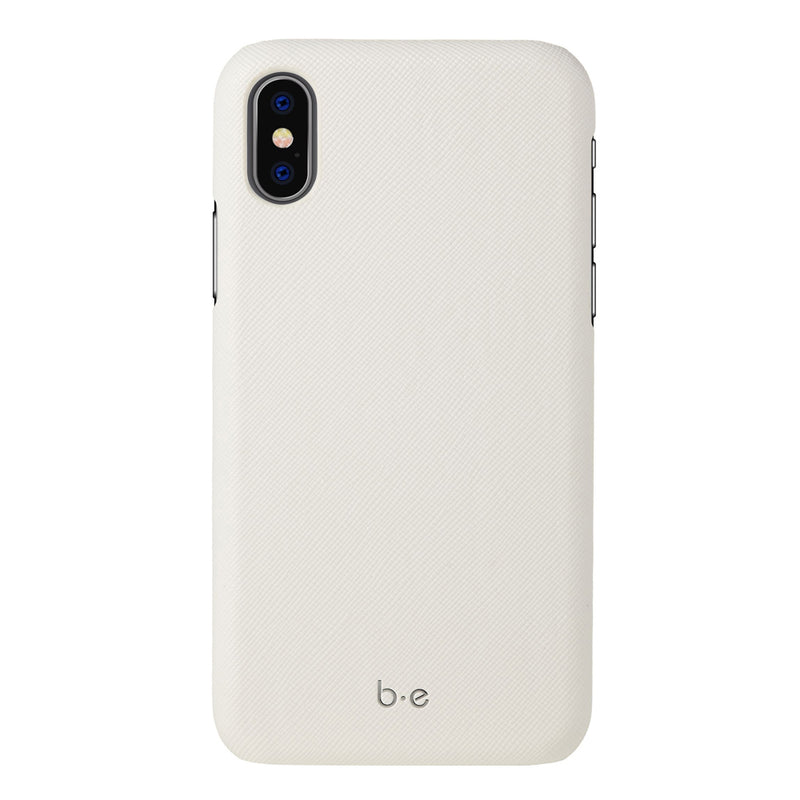 Blu Element  BESFI65P Saffiano Case iPhone XS Max White