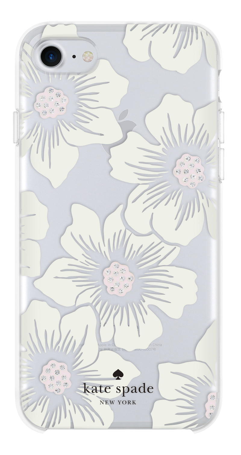 Kate Spade  KSIPH055HHCCS Protective iPhone SE 2020/8/7/6S/6 Hollyhock Floral