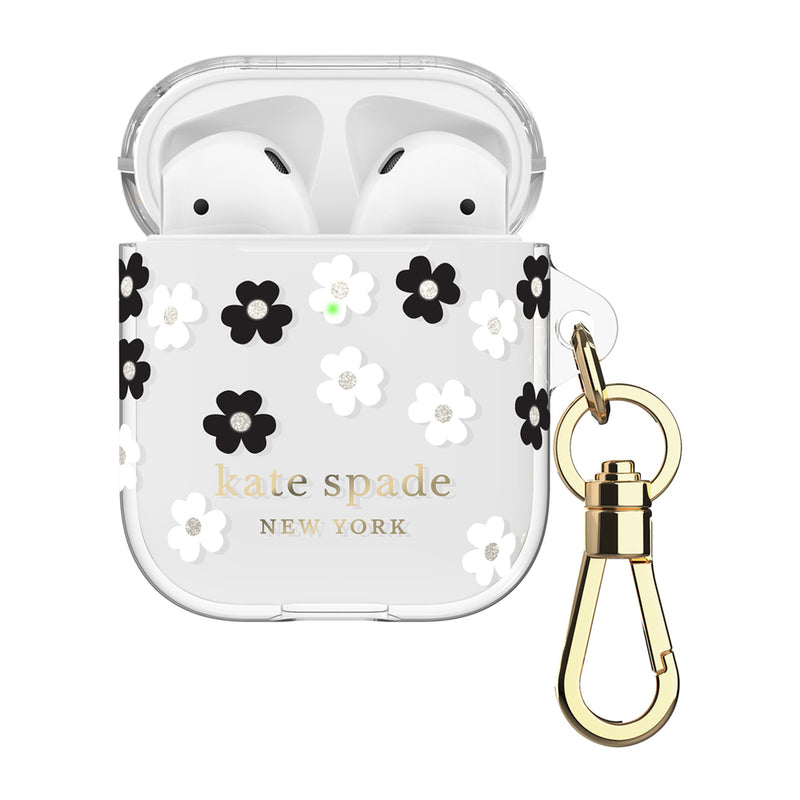 Kate Spade  KSAP001SFLBW Flexible Case AirPods Scattered Flowers