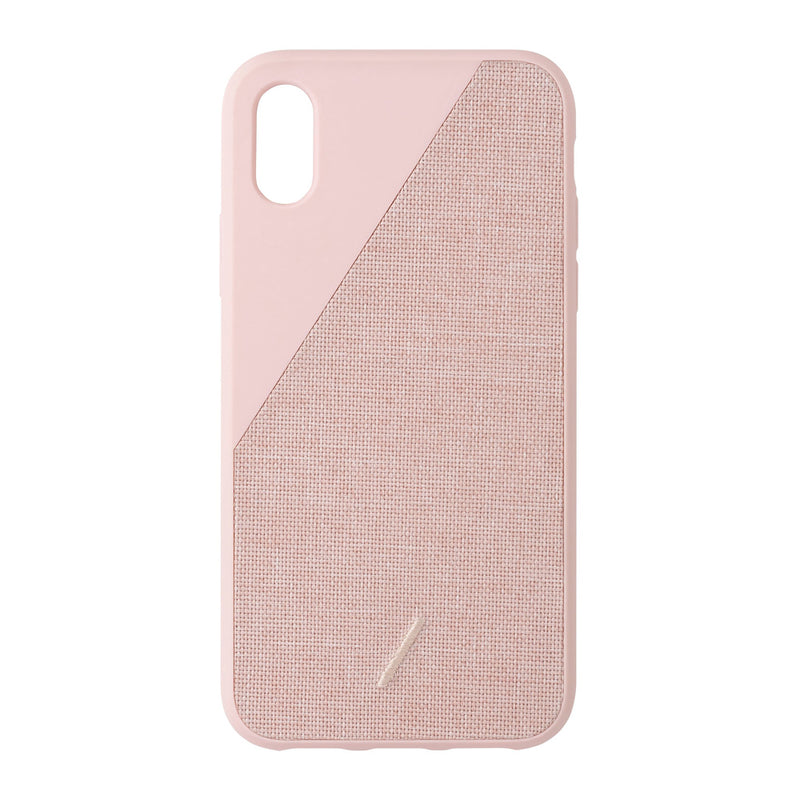 Native Union  CCAVROSENP18S Clic Canvas Case iPhone X/XS Rose