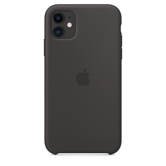 Apple  MWVU2ZMA Silicon Case iPhone 11 Black