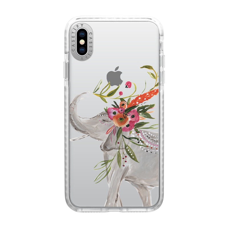Casetify  CTF41163066112000 Impact Case iPhone XS Max Boho Elephant