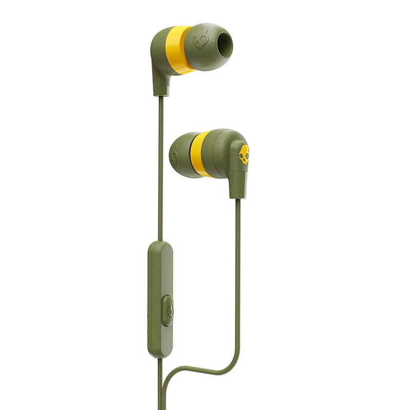 Skullcandy  S2IMY-M687 Jib+ Earbuds with Microphone Moss/Olive
