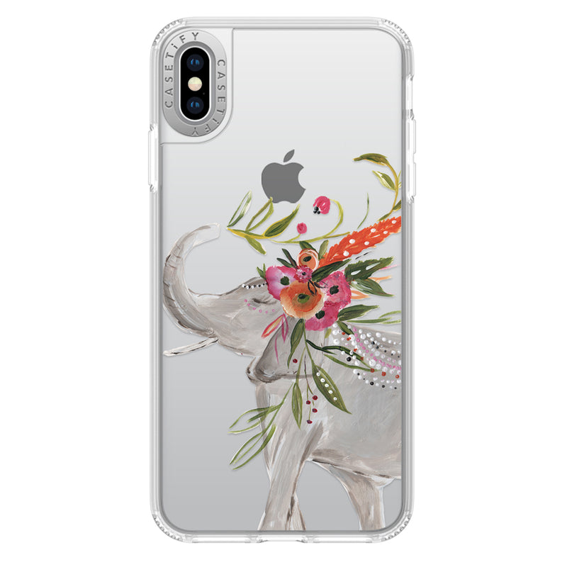 Casetify  CTF41163066312000 Grip Case iPhone XS Max Boho Elephant