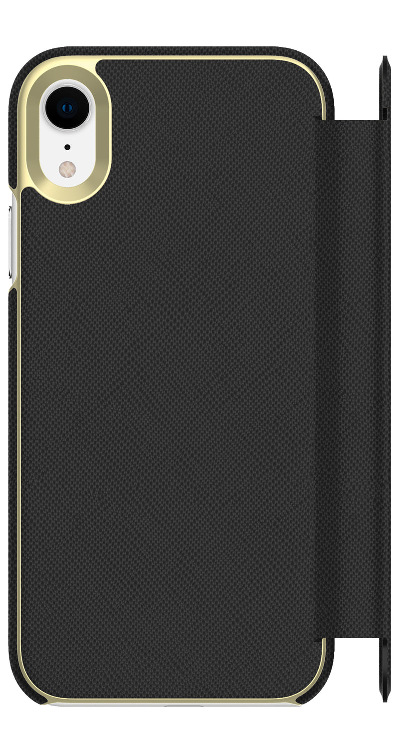 Kate Spade  KSIPH120SBLK Folio Case iPhone XR Saffiano Black