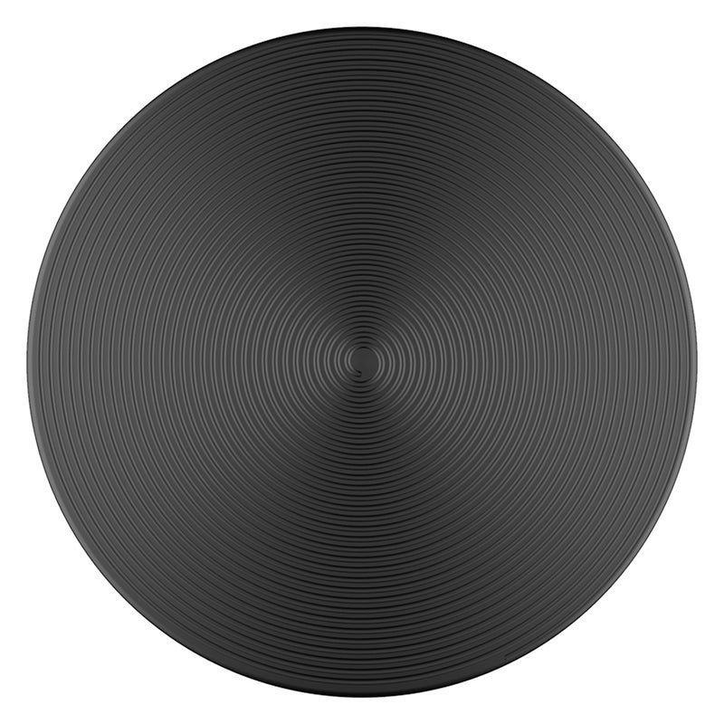 PopSockets  801134 PopGrip Twist Black Aluminum