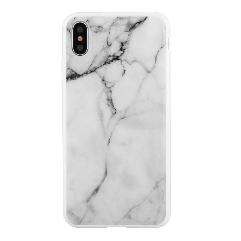 Blu Element  MWMI65 Mist iPhone XS Max White Marble