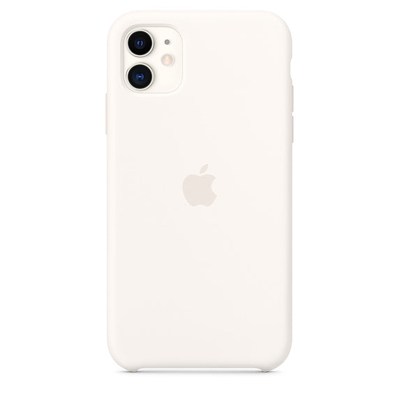 Apple  MWVX2ZMA Silicon Case iPhone 11 White