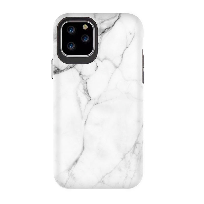 Blu Element  BEM61WMM Mist 2X iPhone 11/XR White Marble Matte