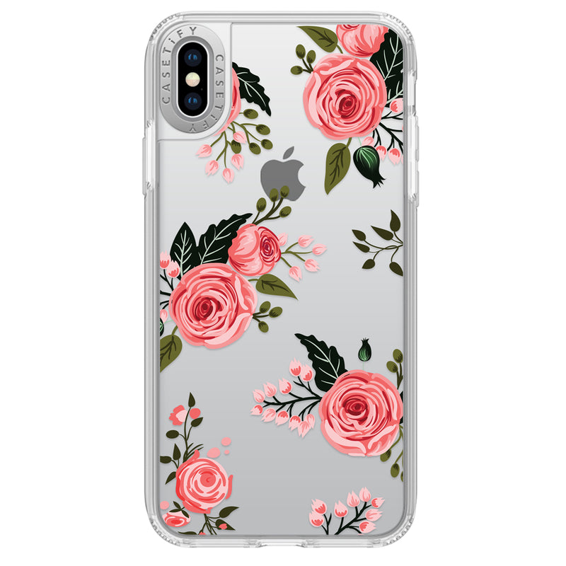 Casetify  CTF41395906312000 Grip Case iPhone XS Max Pink Floral Roses