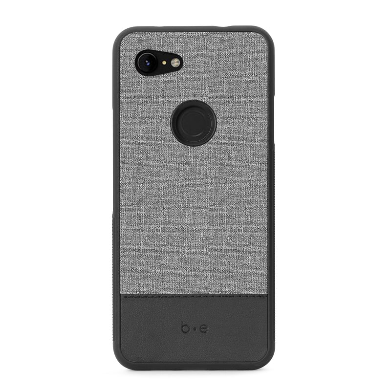 Blu Element  BC3XLGB Chic Collection Case Pixel 3a XL Gray/Black
