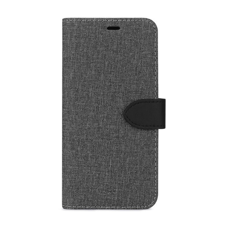 Blu Element  BEFGA10EGB 2 in 1 Folio Galaxy A10e Gray/Black