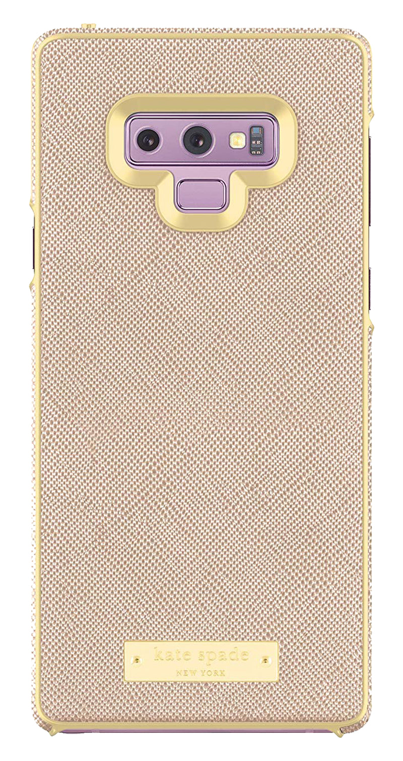Kate Spade  KSSA048SRG Wrap Case Galaxy Note9 Sffiano Rose