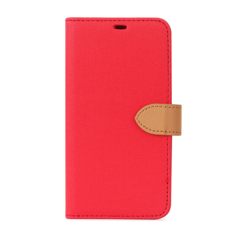 Blu Element  BE2161RB 2 in 1 Folio iPhone 11/XR Red/Butterum