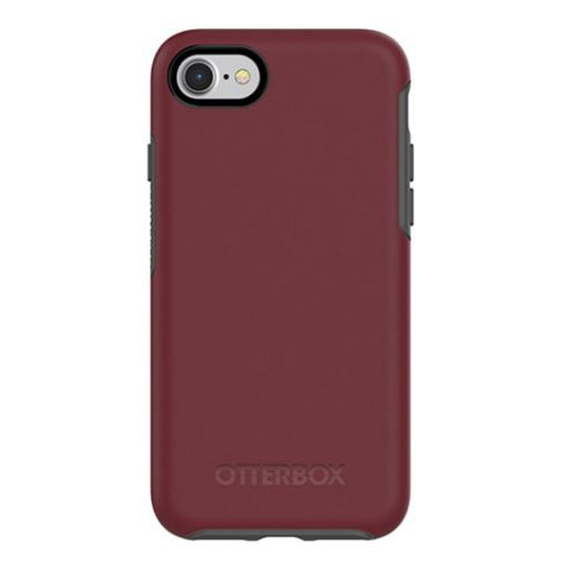 Otterbox  7756670 Symmetry iPhone SE 2020/8/7 Fin Port (Burgundy/Gray)