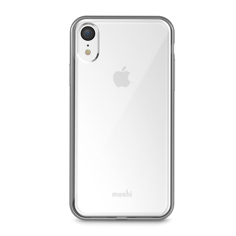 Moshi  99MO103202 Vitros Clear iPhone XR Jet Silver