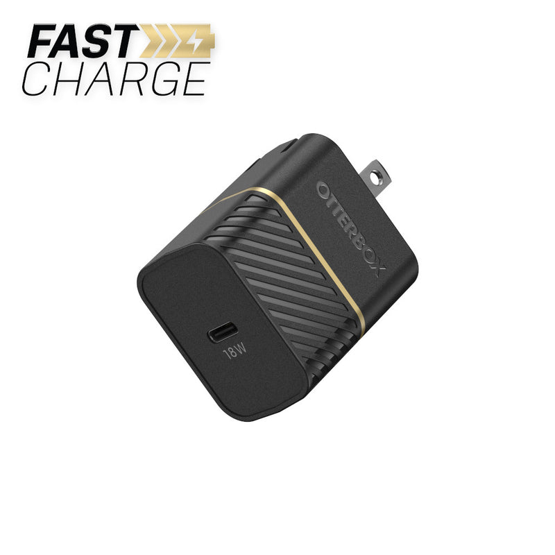Otterbox  7852691 Premium Fast Charge PD Wall Charger USB-C 18W Black