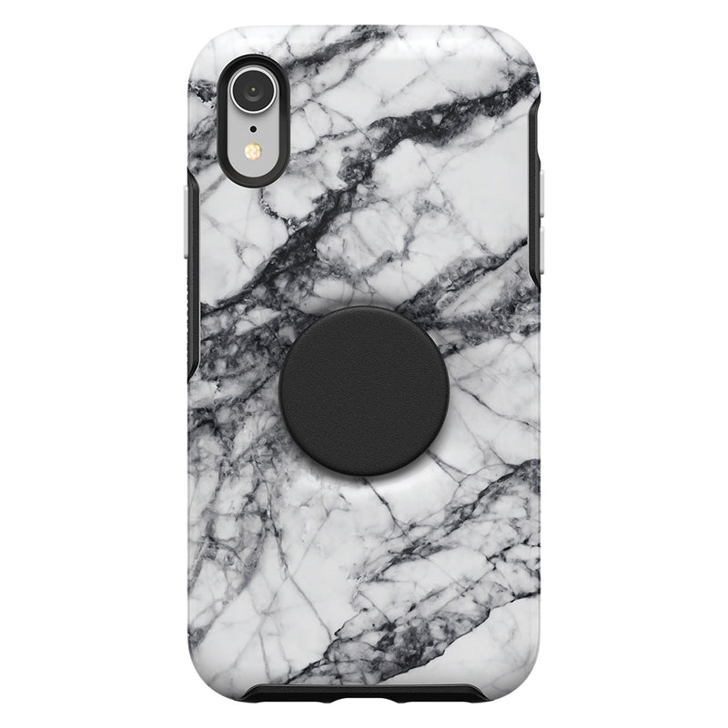 Otterbox  7761727 Otter + Pop Symmetry iPhone XR White Marble