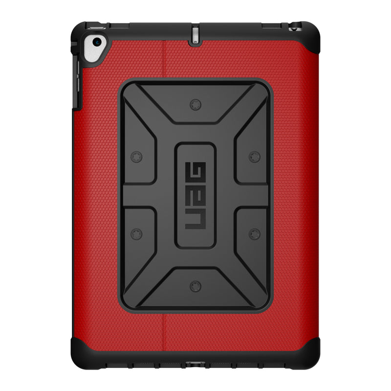UAG  IPD17EMG Metropolis Folio iPad 9.7 2018/9.7 2017/Air 2/Air Black/Red