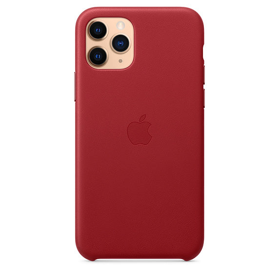 Apple  MWYF2ZMA Leather Case iPhone 11 Pro Red