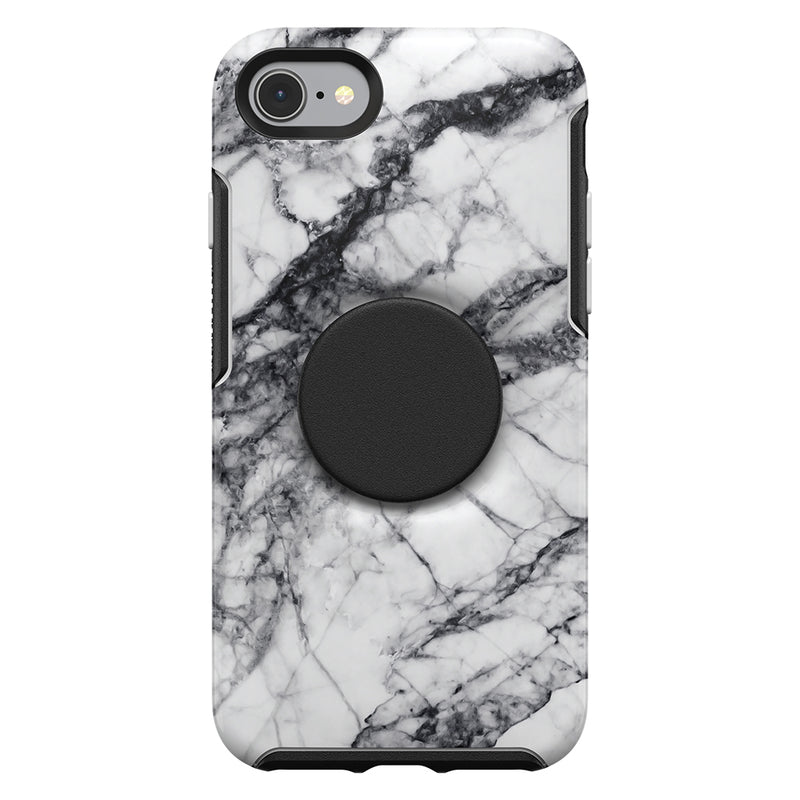 Otterbox  7761845 Otter + Pop Symmetry iPhone SE 2020/8/7 White Marble