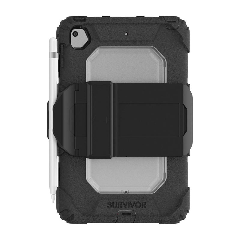 Griffin  GIPD005BLKB Survivor with Hand Strap iPad Mini 5 Black/Clear