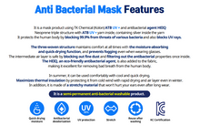 Load image into Gallery viewer, Anti-Bacterial ATB-UV+ Silver® Mask for Adults (Non-medical)
