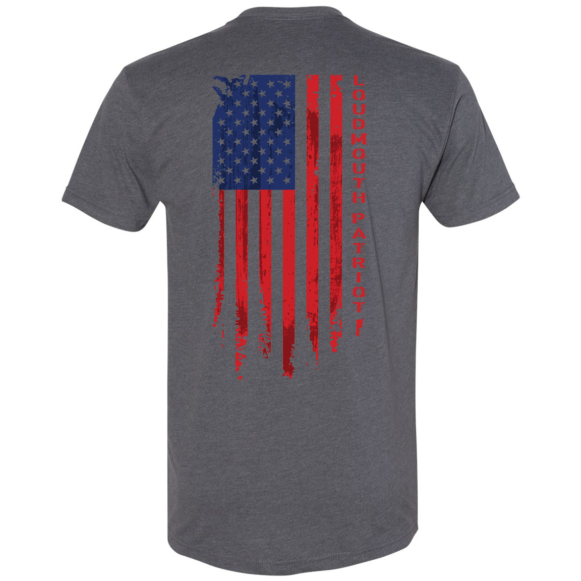Mens Loudmouth Flag Tee