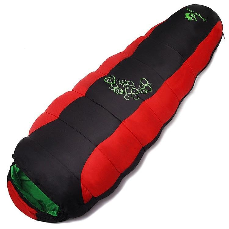 Jungle King thickening fill four holes cotton sleeping bags for outdoor camping