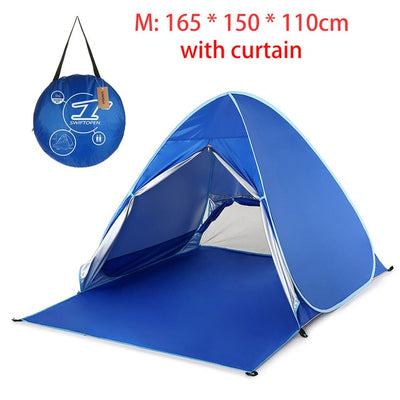 Portable Outdoor Automatic Tent Instant Pop up