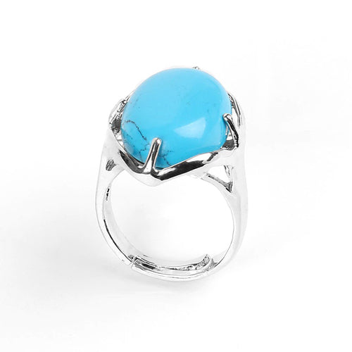 "Bague ""Fortification"" en Turquoise"
