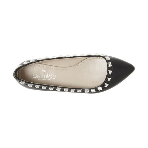 Point Deluxe Rockflat ballerina black nappa