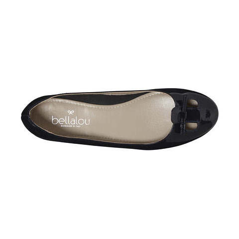 Primavera ballerina dark blue in patent leather