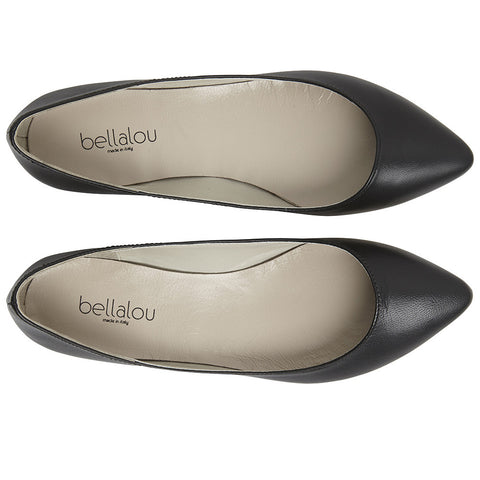 Point Deluxe ballerina black nappa