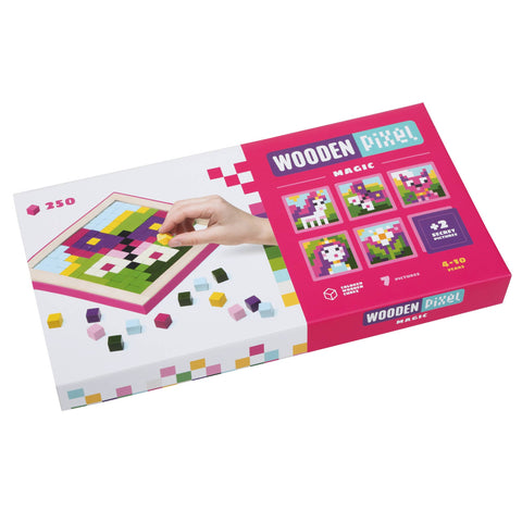 Wooden Pixels Magic 250 Piece