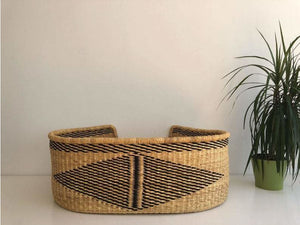 Woven Norweigan Straw Pet Bed