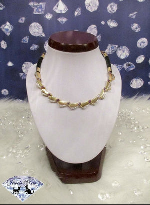 Ultra Luxe Gold and Amethyst Necklace
