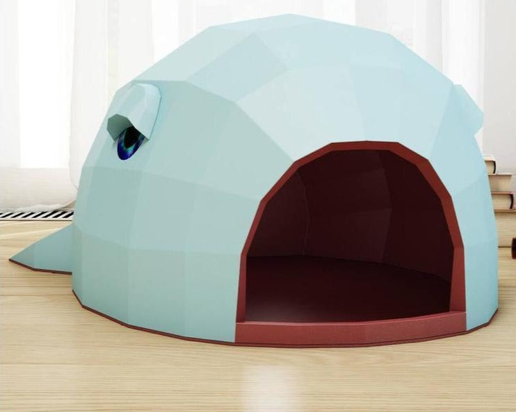 Build-Your-Own Whale Cat House