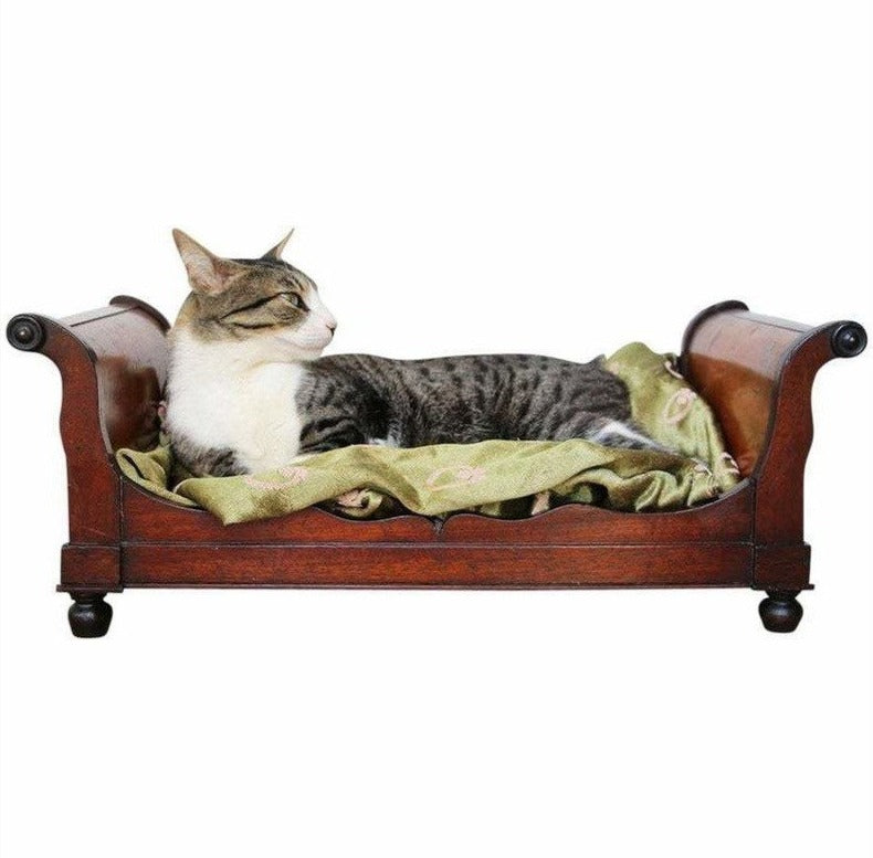 Original 18th Century, Baroque Cat Bed, Portuguese