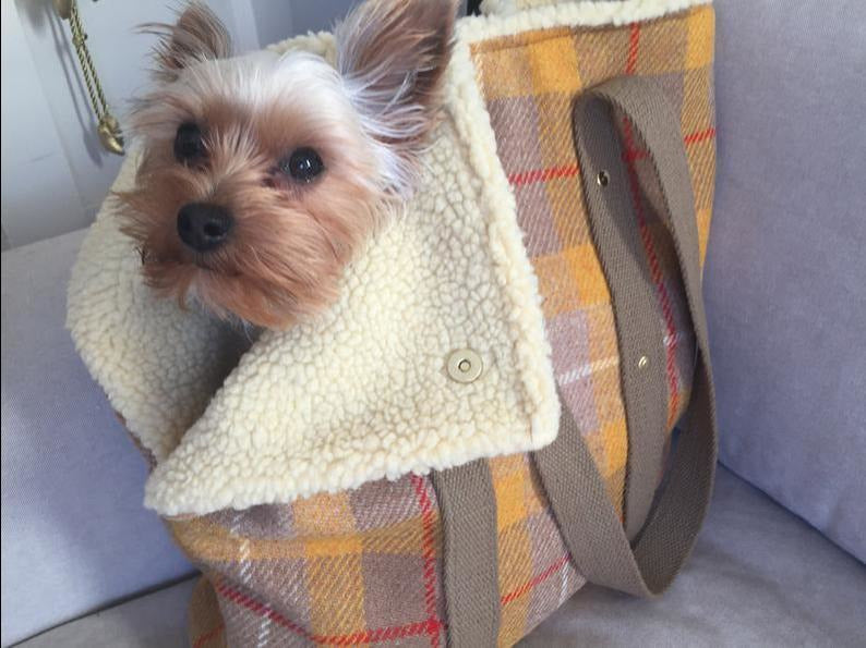 Highlands Tweed Dog Carrier