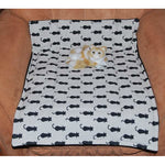 Kitty Cat Fleece Blanket