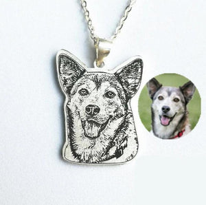 Sterling Silver Pet Charm,Engrave