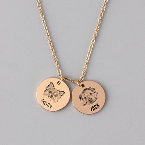 Custom Gift Custom Dog Necklace