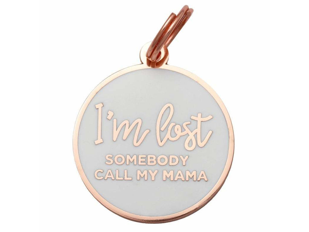 """I'm Lost"" Personalized Pet ID Tag"