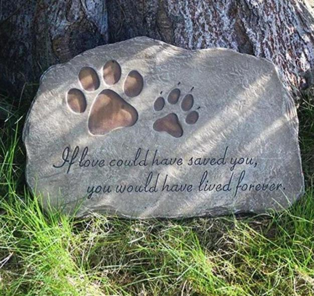 Eternal Love Personalized Pet Memorial Stone