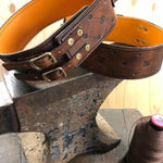 Leather and Brass Sighthound Collar made to measure