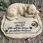 Customized Stone Sculpture Pet Memorial