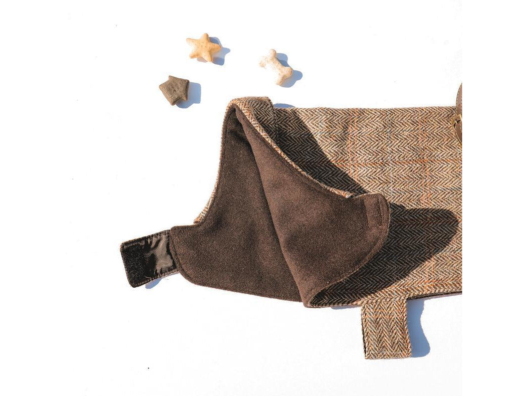 Tweed Dog Jacket