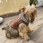 Maverick Luxury Leather Dog Jacket